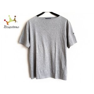 セントジェームス SAINT JAMES 半袖Tシャツ サイズML メンズ グレー   スペシャル特...