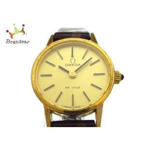 オメガ OMEGA 腕時計 デビル - レディース ゴールド     スペシャル特価 20200504|brandear