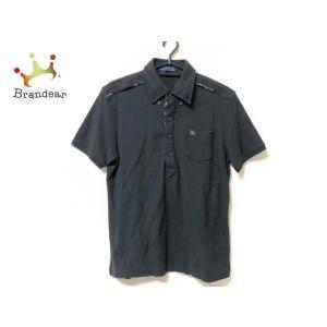 バーバリーブルーレーベル Burberry Blue Label 半袖ポロシャツ サイズL メンズ ...