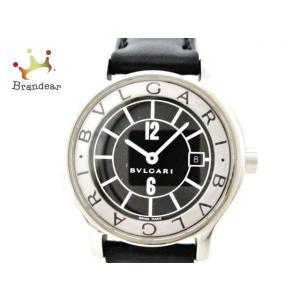 【ブランド】 BVLGARI(ブルガリ) 【ジャンル】 腕時計 【商品名】 ソロテンポ 【型番】 S...