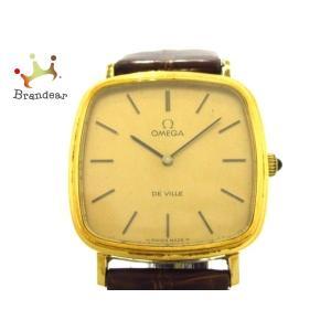 オメガ OMEGA 腕時計 デビル - メンズ ゴールド  スペシャル特価 20200719|brandear