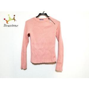 バーバリーブルーレーベル 長袖セーター サイズ38 M レディース 美品 ピンク 新着 201911...