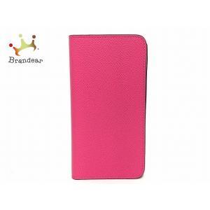 ボナベンチュラ BONAVENTURA 携帯電話ケース ピンク 手帳型iPhoneケース レザー 新...
