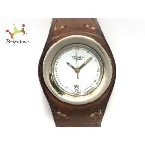 エルメス HERMES 腕時計 アーネ HA1.210 レディース □C 白 新着 20191219