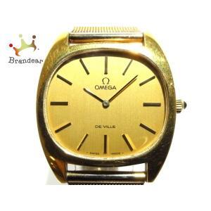 オメガ OMEGA 腕時計 デビル メンズ ゴールド   スペシャル特価 20200824|brandear