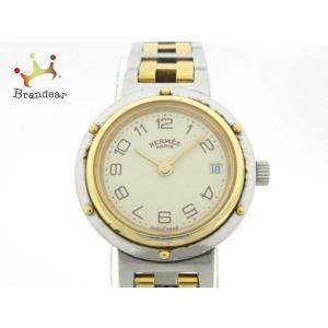エルメス HERMES 腕時計 クリッパー レディース アイボリー 新着 20200108