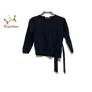 エポカザショップ EPOCA THE SHOP 七分袖セーター サイズ40 M レディース 美品 黒 新着 20200311|brandear