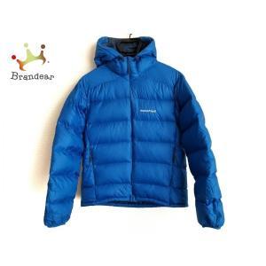 モンベル mont-bell ダウンジャケット サイズS メンズ ブルー 冬物 新着 2020021...