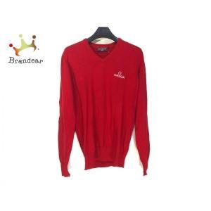 オメガ OMEGA 長袖セーター サイズS メンズ レッド 新着 20200222|brandear