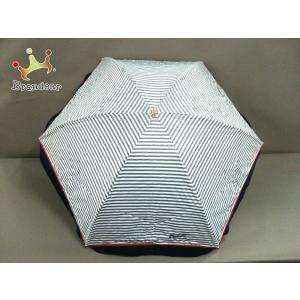 キタムラ KITAMURA 折りたたみ傘 ネイビー ナイロン 新着 20200220