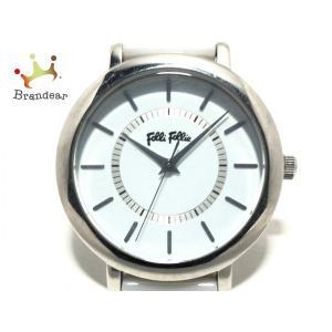フォリフォリ FolliFollie 腕時計 WF5T132BPW レディース 白 新着 20200...