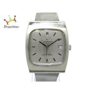 オメガ OMEGA 腕時計 コンステレーション メンズ シルバー 新着 20200918|brandear