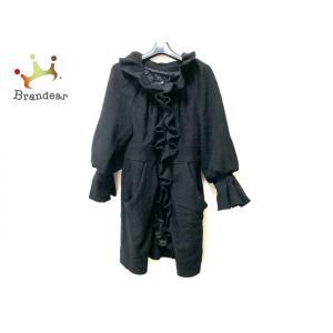 エポカ EPOCA コート サイズ40 M レディース - 黒 長袖/フリル/冬 新着 20200331|brandear