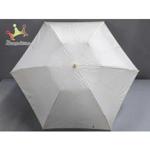 ラルフローレン 折りたたみ傘 - ベージュ×アイボリー×ダークブラウン 千鳥格子柄 化学繊維  値下げ 20200923|brandear
