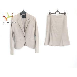 アンタイトル UNTITLED スカートスーツ サイズ3 L レディース ベージュ   スペシャル特価 20200917 brandear