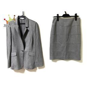 ナラカミーチェ NARACAMICIE スカートスーツ サイズ1 S レディース グレー   スペシャル特価 20200911 brandear