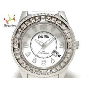 フォリフォリ FolliFollie 腕時計 WF5T138BD レディース 白 新着 202004...