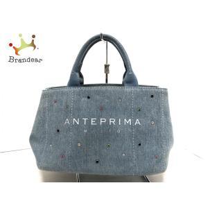 アンテプリマミスト ANTEPRIMA MISTO トートバッグ - ライトブルー ラインストーン デニム 新着 20200721 brandear