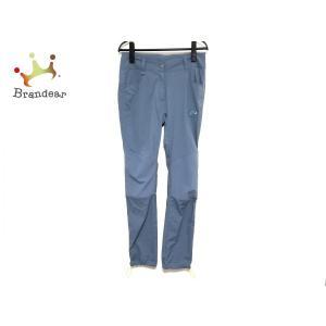 マムート MAMMUT パンツ サイズI40 M レディース グレーブルー 刺繍 新着 202006...