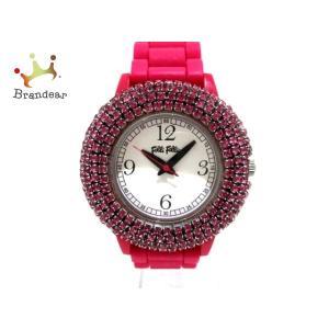 フォリフォリ FolliFollie 腕時計 美品 WF1P018ZP レディース シルバー  スペ...