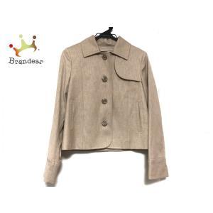 アンタイトル UNTITLED ジャケット サイズ2 M レディース 美品 グレーベージュ×カーキ   スペシャル特価 20200807 brandear