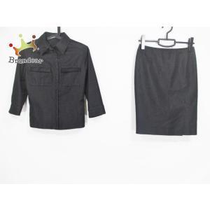 アンタイトル UNTITLED スカートセットアップ サイズ1 S レディース 黒   スペシャル特価 20200727 brandear