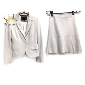 アンタイトル UNTITLED スカートスーツ サイズ1 S レディース ベージュ   スペシャル特価 20200730 brandear