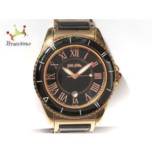 フォリフォリ FolliFollie 腕時計 WF6R069BD レディース 黒 新着 202005...