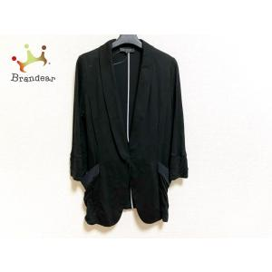 アンタイトル UNTITLED ジャケット サイズ4 XL レディース 美品 黒×白×グレー ストライプ   スペシャル特価 20200902 brandear