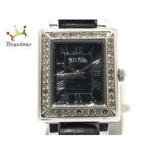 フォリフォリ FolliFollie 腕時計 - WF7A028SP レディース 黒 新着 2020...