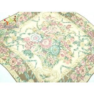 ラルフローレン RalphLauren スカーフ ベージュ×ピンク×マルチ 花柄  値下げ 20200923|brandear