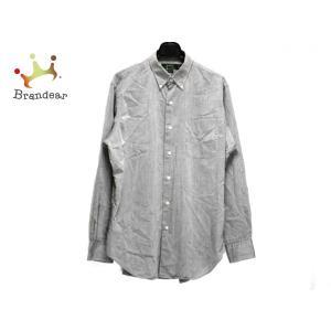 ラルフローレン RalphLauren 長袖シャツ サイズ15 1/2 メンズ グレー   スペシャル特価 20200824|brandear