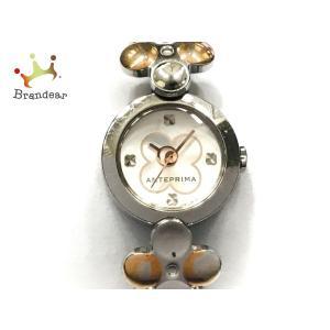アンテプリマ ANTEPRIMA 腕時計 1N01-0NK0 レディース フラワー アイボリー×シルバー  値下げ 20200917 brandear