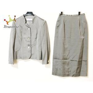 ジバンシー GIVENCHY スカートスーツ サイズ10 L レディース - グレー HI FORM...