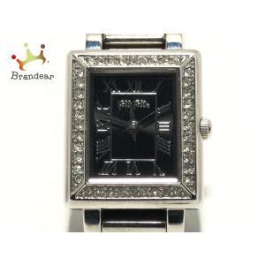 フォリフォリ FolliFollie 腕時計 WF7A028BP レディース ラインストーン 黒 新...