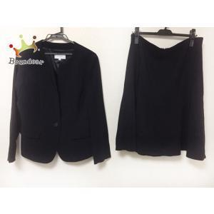 アンタイトル UNTITLED スカートスーツ サイズ44 L レディース 美品 ダークネイビー   スペシャル特価 20200912 brandear