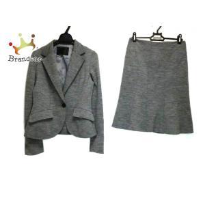 アンタイトル UNTITLED スカートスーツ レディース グレー   スペシャル特価 20200830 brandear