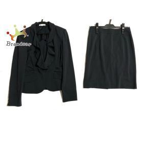 ナラカミーチェ NARACAMICIE スカートスーツ サイズ1 S レディース ダークグレー×ライトグレー   スペシャル特価 20200828 brandear
