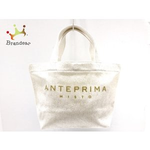アンテプリマミスト ANTEPRIMA MISTO トートバッグ - アイボリー ラメ キャンバス 新着 20200612 brandear