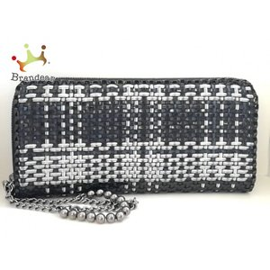 アンテプリマ ANTEPRIMA 長財布 - 黒×白 ラウンドファスナー ワイヤー   スペシャル特価 20200830 brandear