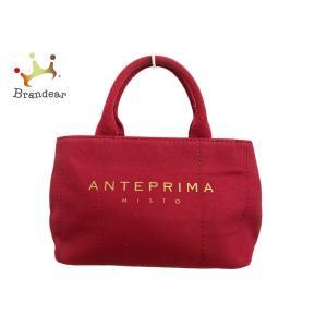 アンテプリマミスト ANTEPRIMA MISTO トートバッグ レッド キャンバス 新着 20200724 brandear
