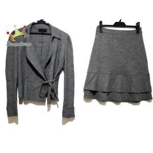アンタイトル UNTITLED スカートスーツ レディース - グレー 新着 20200707 brandear