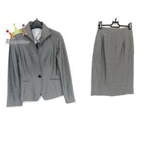 ナラカミーチェ NARACAMICIE スカートスーツ サイズ0 XS レディース 美品 グレー  値下げ 20200924 brandear