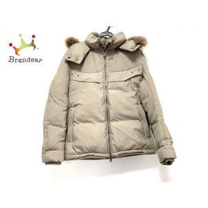 エポカ EPOCA ダウンジャケット サイズ46 XL メンズ 美品 - グレーベージュ 長袖/UOMO/冬 新着 20200704|brandear