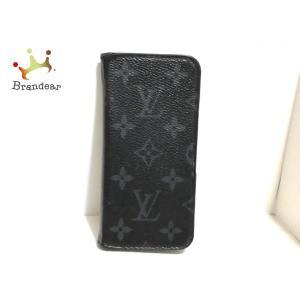 ルイヴィトン 携帯電話ケース モノグラムエクリプス(キャンバス) IPHONEXフォリオ M63446   スペシャル特価 20200923 brandear