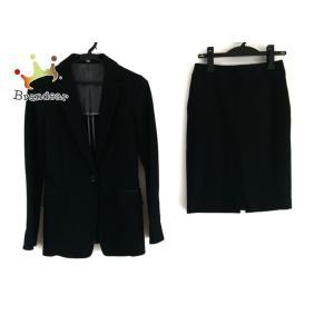 ナラカミーチェ NARACAMICIE スカートスーツ レディース 美品 - 黒 新着 20200720 brandear
