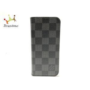 ルイヴィトン 携帯電話ケース ダミエグラフィット iphone6・フォリオ N61244 ダミエグラフィット   スペシャル特価 20200918 brandear