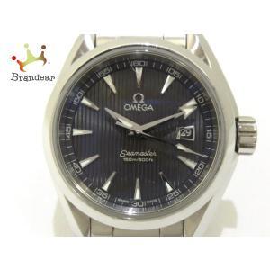 オメガ OMEGA 腕時計 シーマスター アクアテラ 231.10.30.61.06.001 レディース SS ダークグレー  値下げ 20200907|brandear