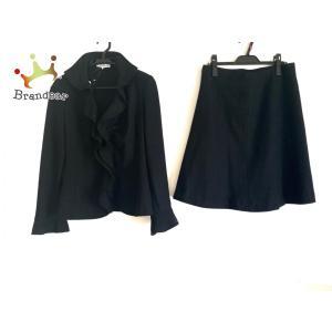 ナラカミーチェ スカートセットアップ サイズ2 M レディース 美品 黒 肩パッド/春・秋物 新着 20200810 brandear