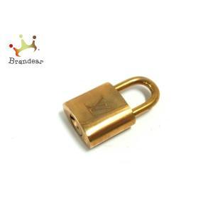 ルイヴィトン LOUIS VUITTON 小物 美品 パドロック R10000 ゴールド パドロック(南京錠) 真鍮 新着 20200808 brandear